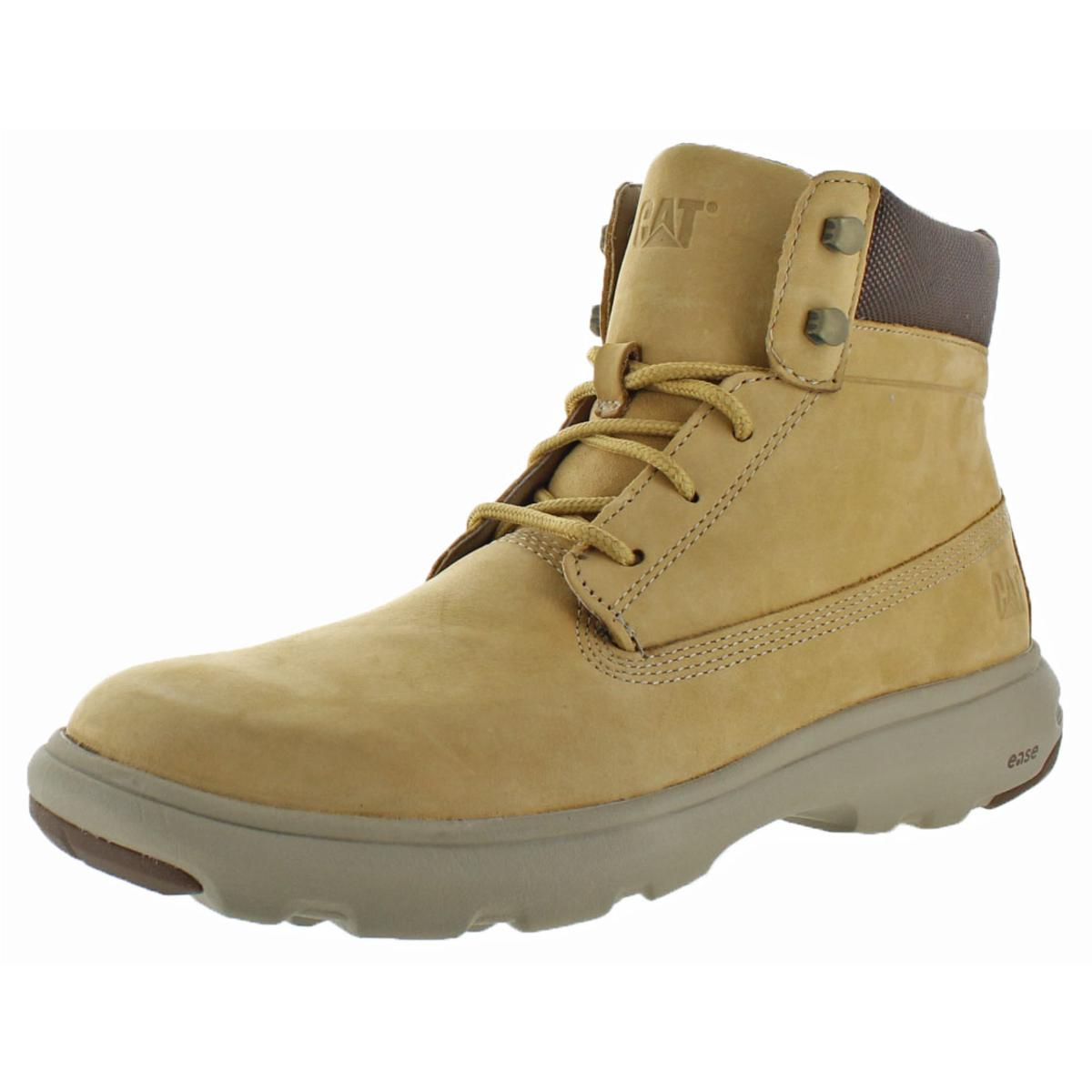 Clothing, Shoes & Accessories Dedicated Leather Safety Work Boots Lightweight Comfort Steel Toe Womens Caterpillar Tan