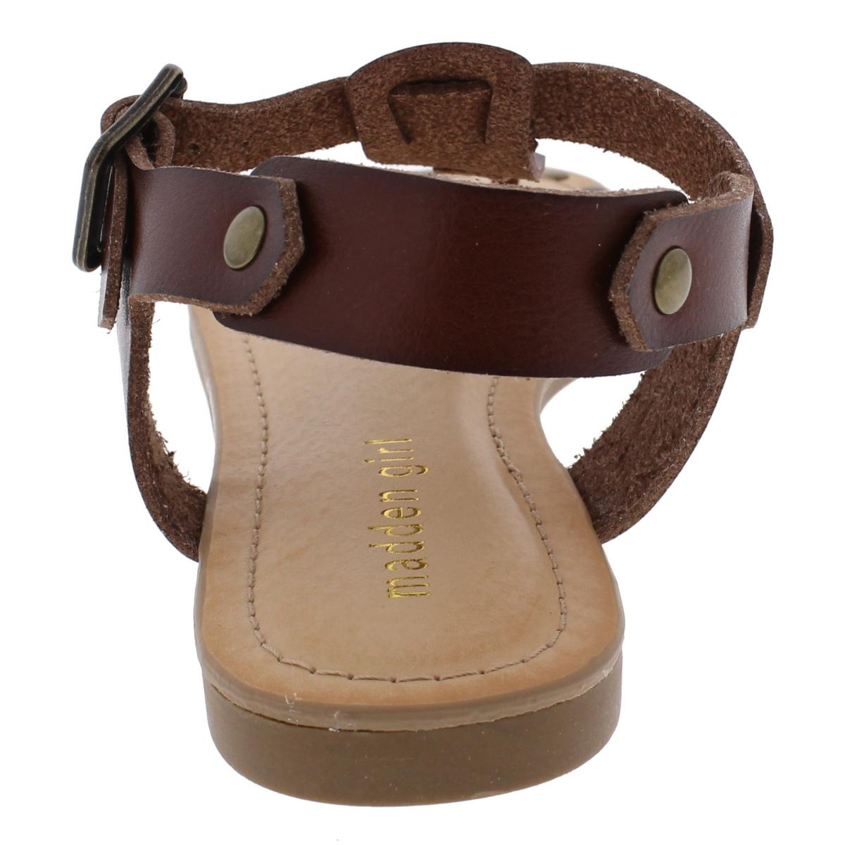 Madden-Girl-by-Steve-Madden-Womens-Mona-Studded-T-Strap-Sandals-Shoes-BHFO-9554 thumbnail 6