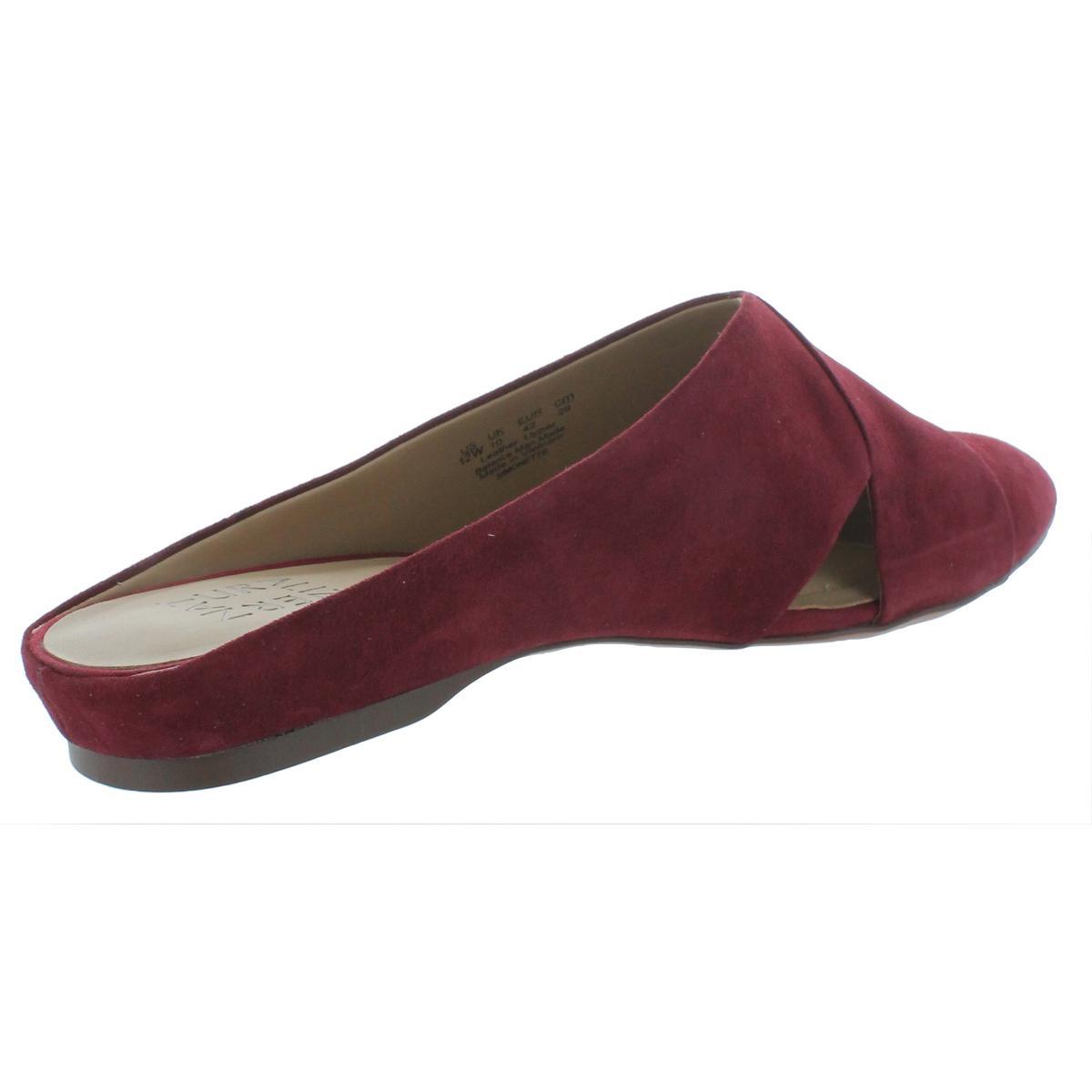 Naturalizer-Womens-Simonette-Solid-Dress-Pointed-Toe-Mules-Flats-BHFO-4339 thumbnail 4