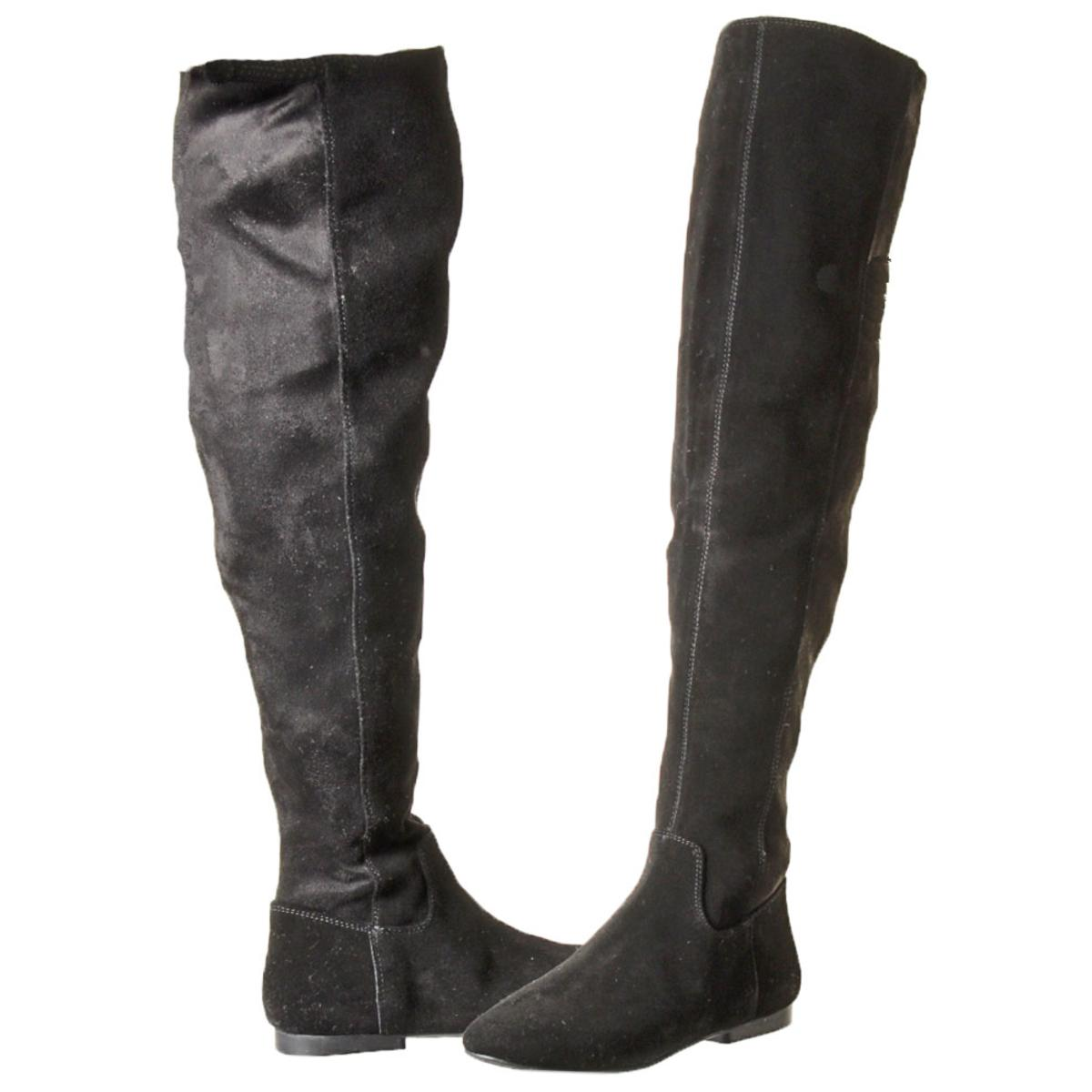 1dc466aa8e2 Lucky Brand Gavina Women s Tall Suede Over The Knee Boots