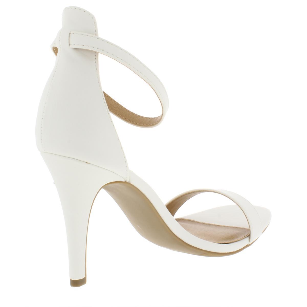 Material-Girl-Womens-Blaire-6-Patent-Mirrored-Dress-Heels-Sandals-BHFO-4127 thumbnail 10