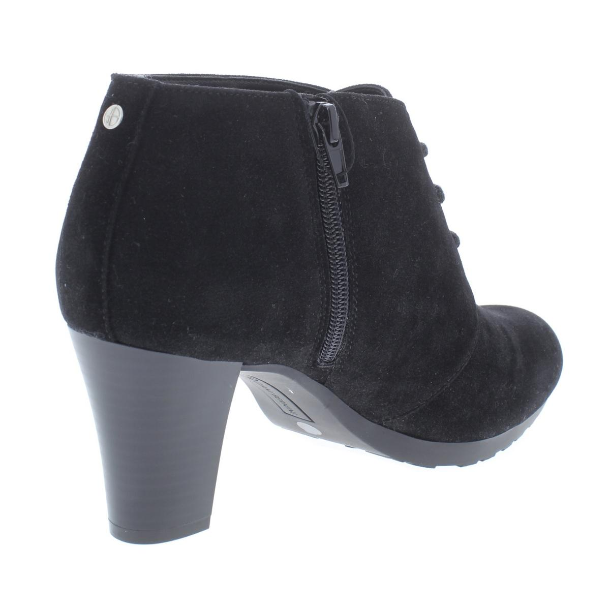 Giani Bernini Donna Memory Orlaa Ankle Derby Memory Donna Foam Booties Shoes BHFO 1953 353ba4