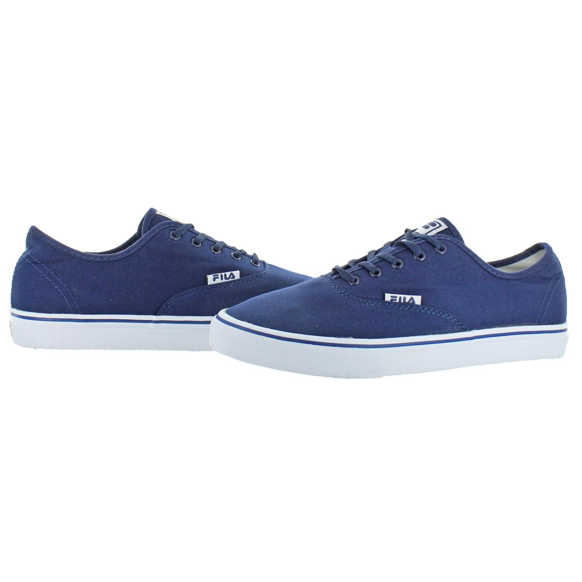 Fila-Classic-Canvas-Men-039-s-Fashion-Skate-Sneakers-Shoes thumbnail 9