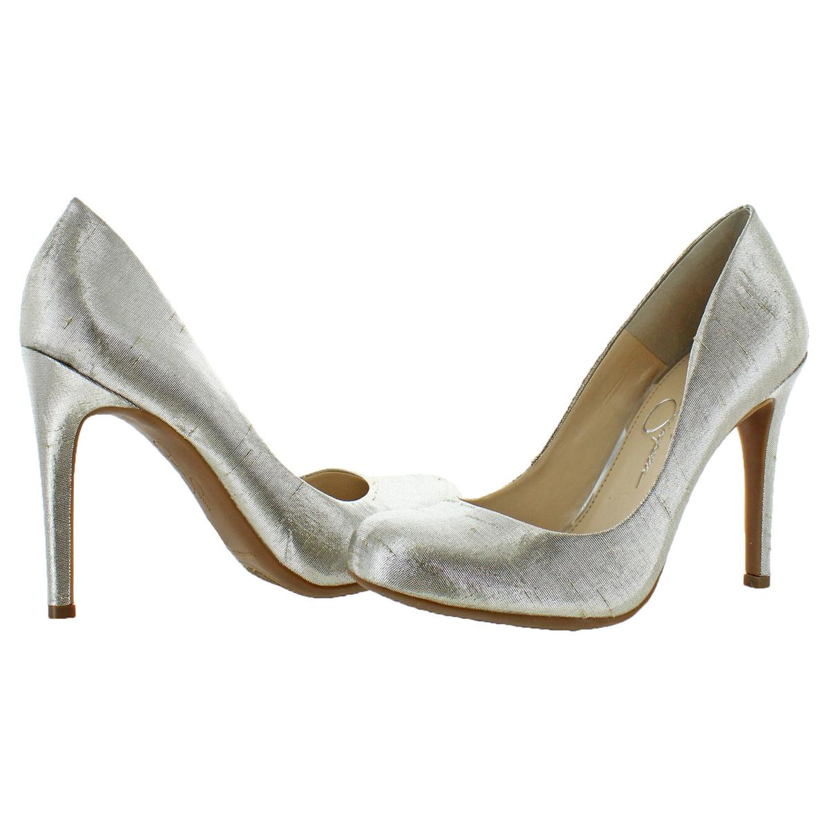 Jessica-Simpson-Women-039-s-Calie-Round-Toe-Classic-Heels-Pumps-Shoes thumbnail 16