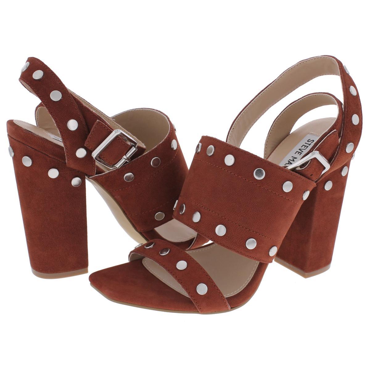 f6b83bd66db Details about Steve Madden Womens Jansen Open Toe Slingback Dress Sandals  Shoes BHFO 2228