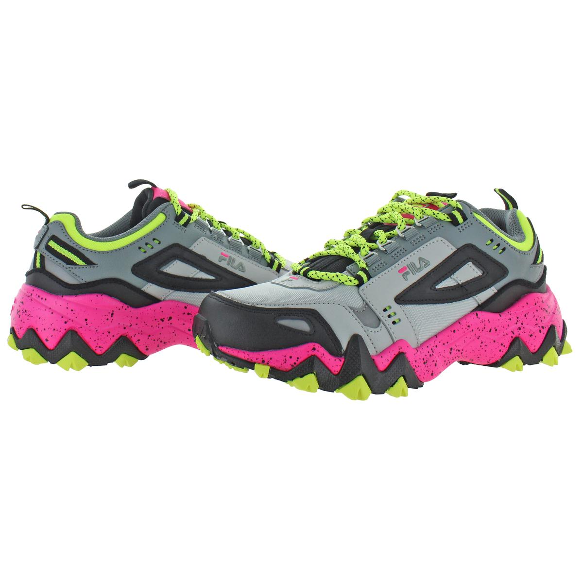 thumbnail 6 - Fila Women's Oakmont Leather Retro-Inspired Chunky Athletic Hiking Trail Sneaker