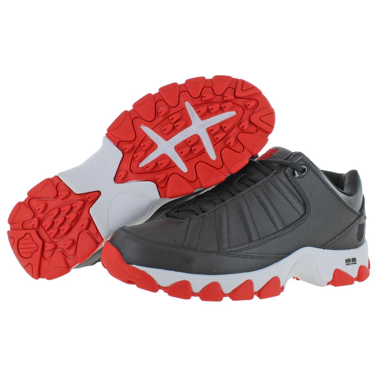 K-Swiss-Men-039-s-ST529-Heritage-Leather-Fashion-Sneakers-Shoes miniatuur 4