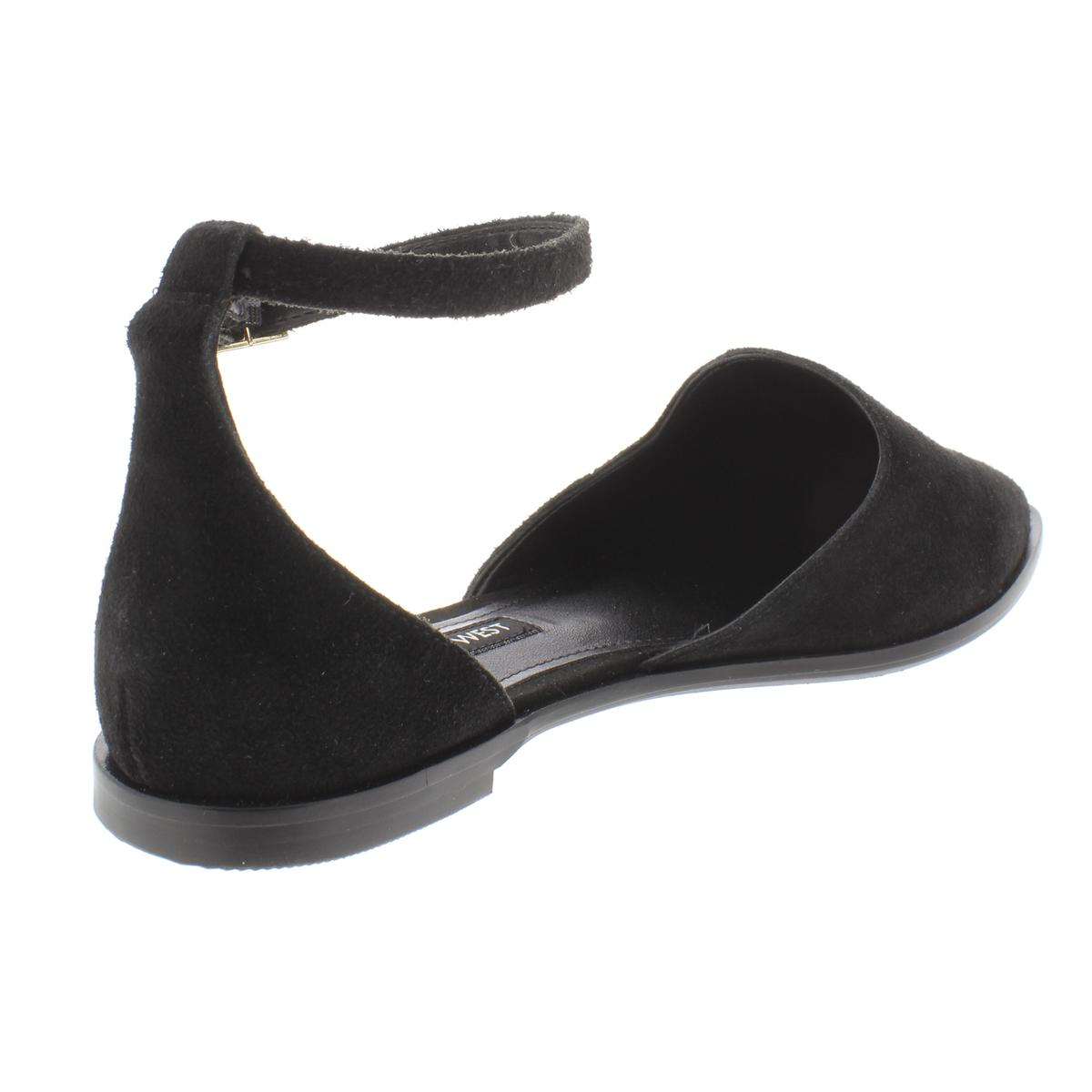 Nine-West-Womens-Oriona-Solid-Suede-D-039-Orsays-Flats-Shoes-BHFO-8106 thumbnail 4