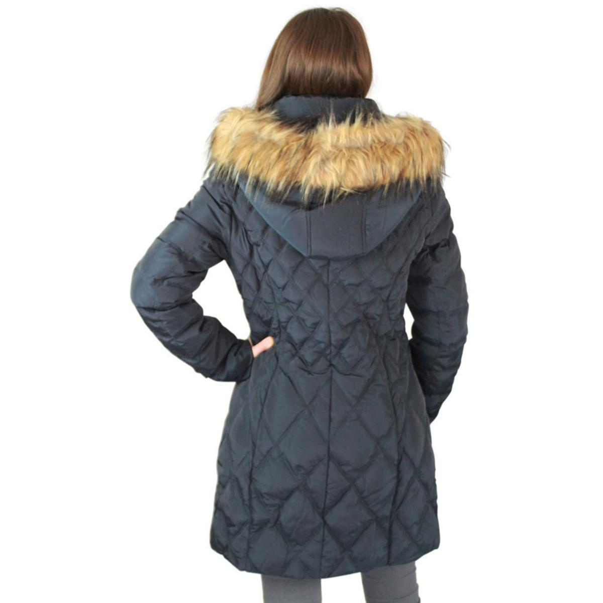 Jessica Simpson Quilted Women S Mid Length Diamond Down