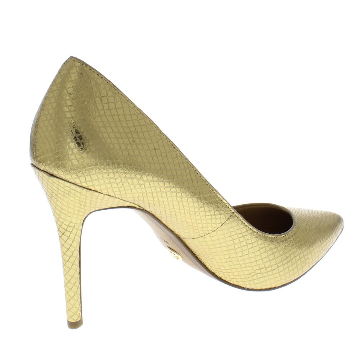 MICHAEL-Michael-Kors-Womens-Claire-Leather-Dress-Heels-Shoes-BHFO-5919 thumbnail 4