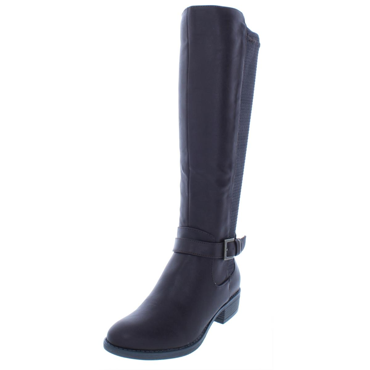 Style & Co. Damenschuhe Luciaa Knee-High Faux Leder Knee-High Luciaa Riding Stiefel Schuhes BHFO 4667 588164