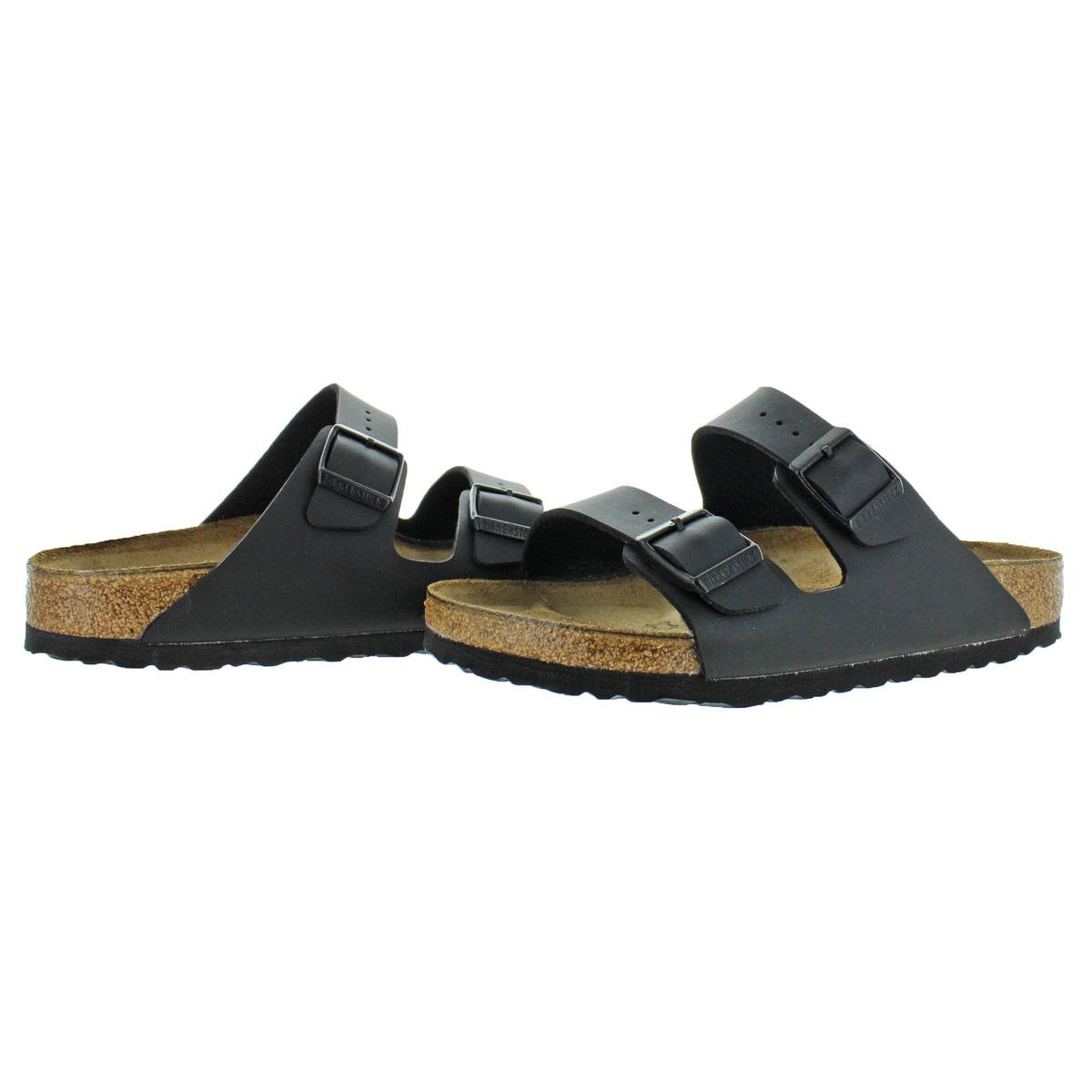 Birkenstock-Women-039-s-Arizona-Double-Buckle-Cork-Sandals thumbnail 3