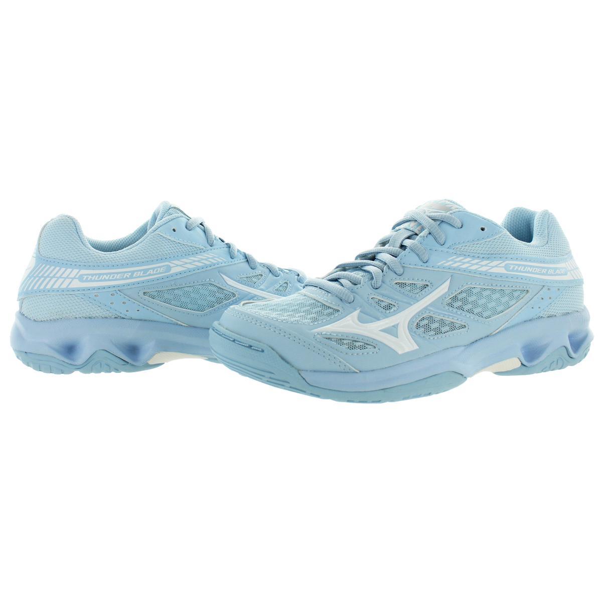 Mizuno-Womens-Thunder-Blade-Low-Top-Non-Marking-Sneakers-Shoes-BHFO-9051 thumbnail 3