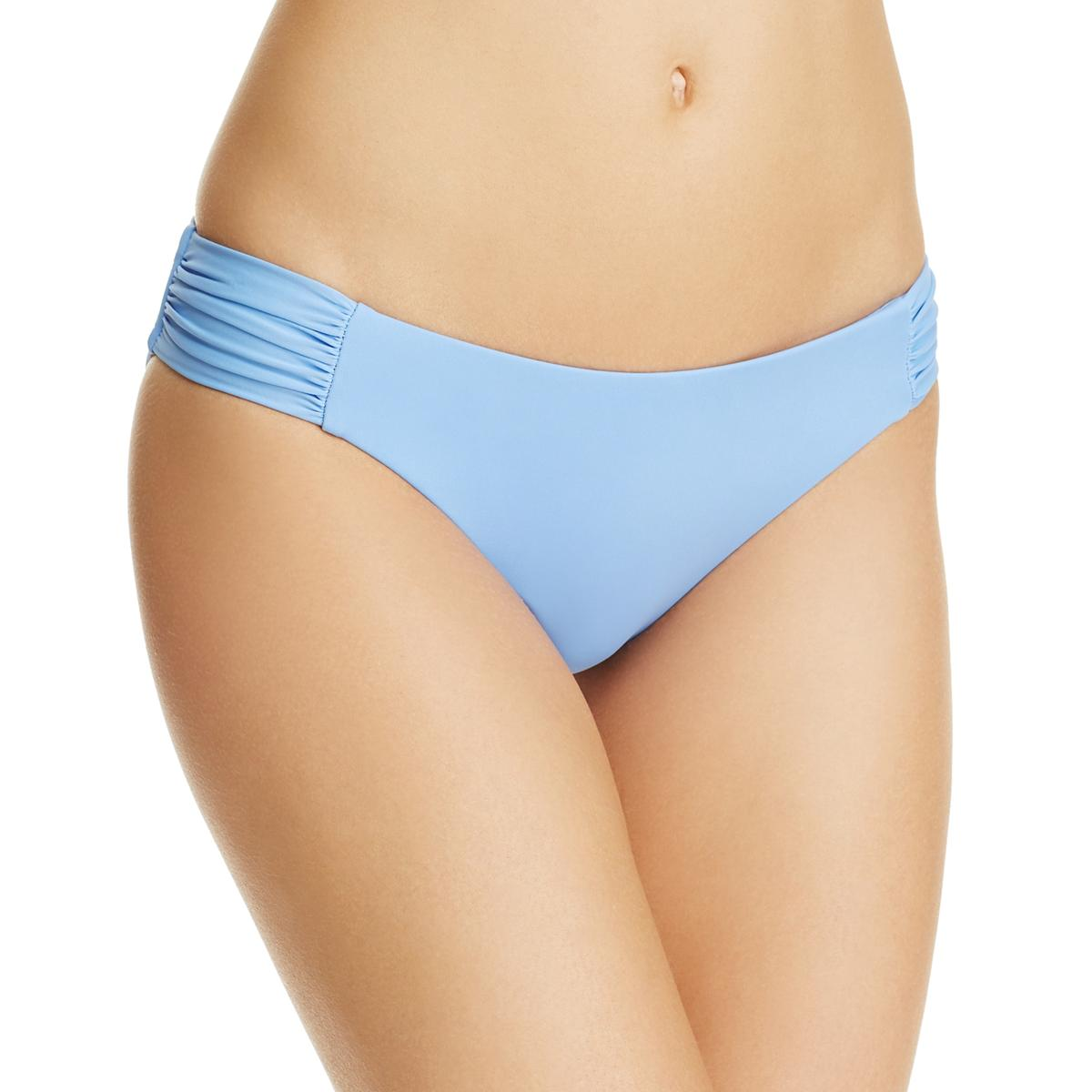 93e6b77815 Details about Becca by Rebecca Virtue Womens Blue Hipster Swim Bottom  Separates L BHFO 2030