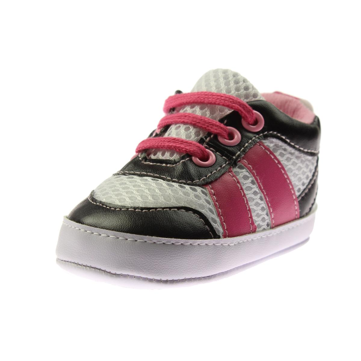 Rosie Pope Kids Footwear I See You Infant Boys Crib Shoes Sneakers BHFO 6152