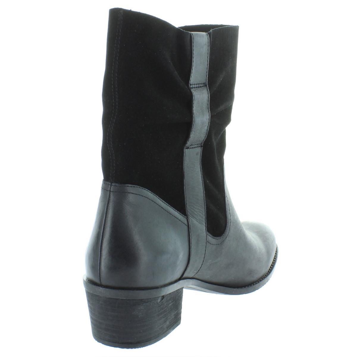 9febfa7068171 Details about Umberto Raffini Womens Kiki Black Ankle Booties Shoes 41  Medium (B,M) BHFO 4328