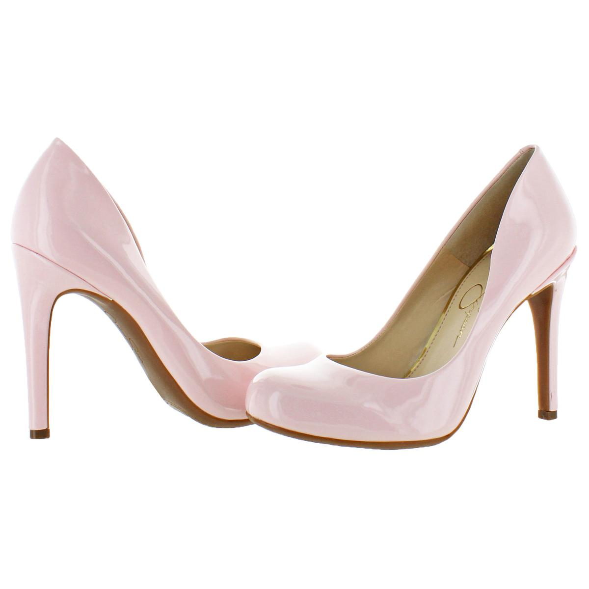 Jessica-Simpson-Women-039-s-Calie-Round-Toe-Classic-Heels-Pumps-Shoes thumbnail 3