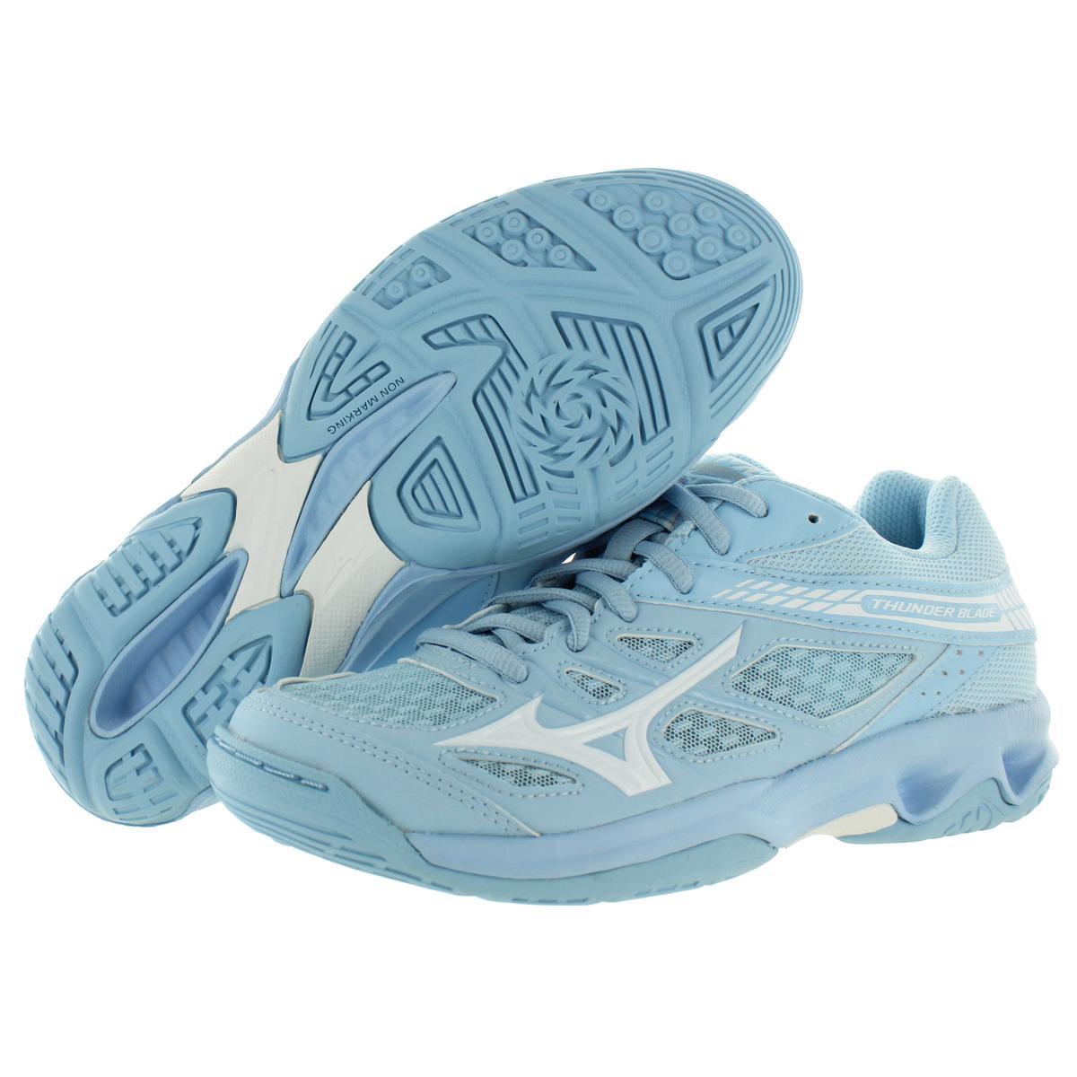 Mizuno-Womens-Thunder-Blade-Low-Top-Non-Marking-Sneakers-Shoes-BHFO-9051 thumbnail 4
