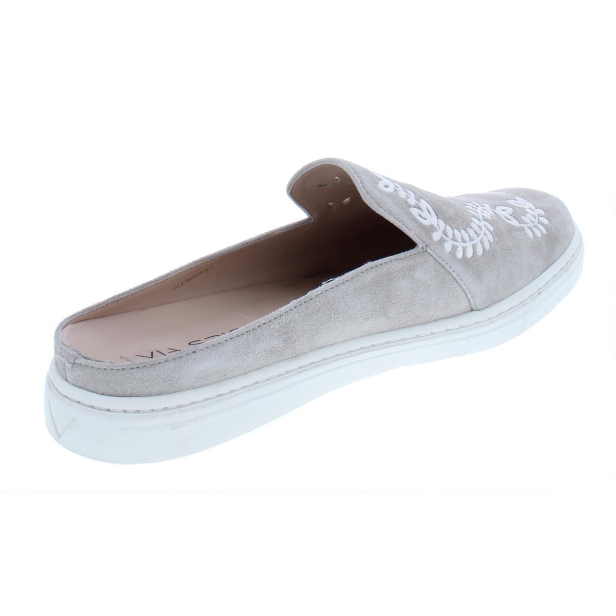 Via-Spiga-Womens-Rina-3-Embroidered-Fashion-Mules-Shoes-BHFO-8835 thumbnail 4