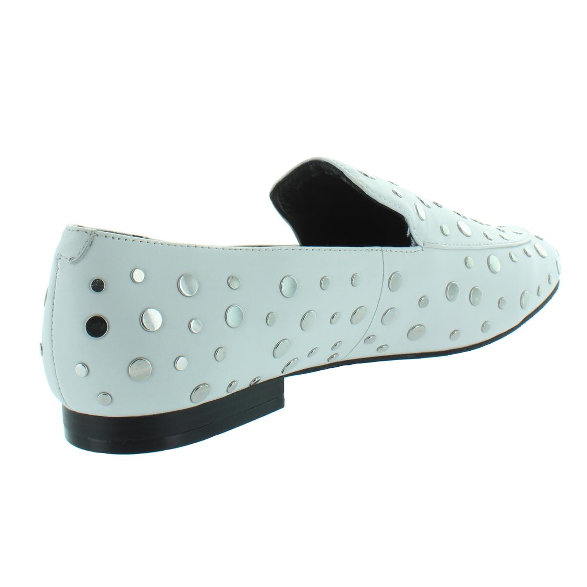 Kenneth-Cole-New-York-Womens-Westley-2-Studded-Leather-Loafers-Shoes-BHFO-0897 thumbnail 6