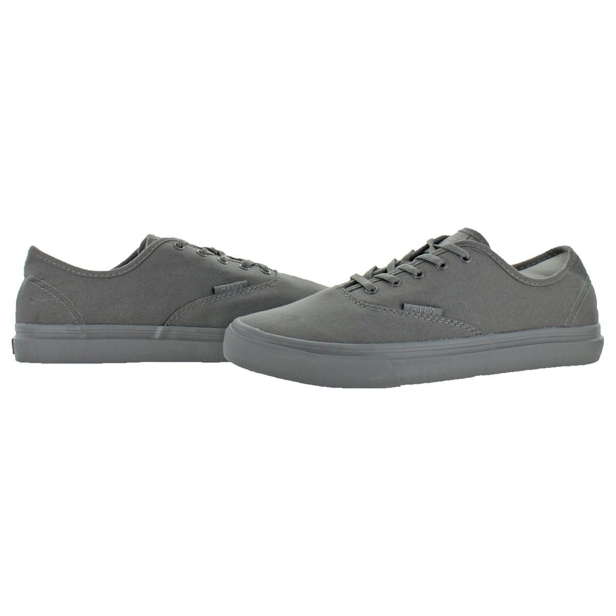 Fila-Classic-Canvas-Men-039-s-Fashion-Skate-Sneakers-Shoes thumbnail 3