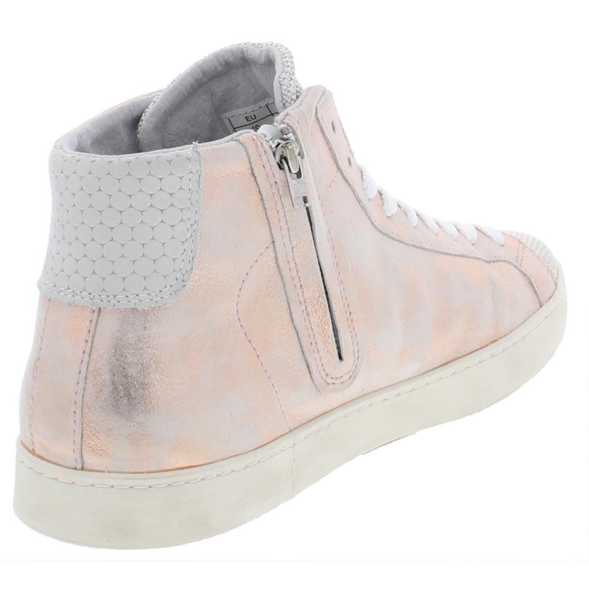 Steve-Madden-Womens-Hardwick-Leather-Fashion-High-Top-Sneakers-Shoes-BHFO-9054 thumbnail 4