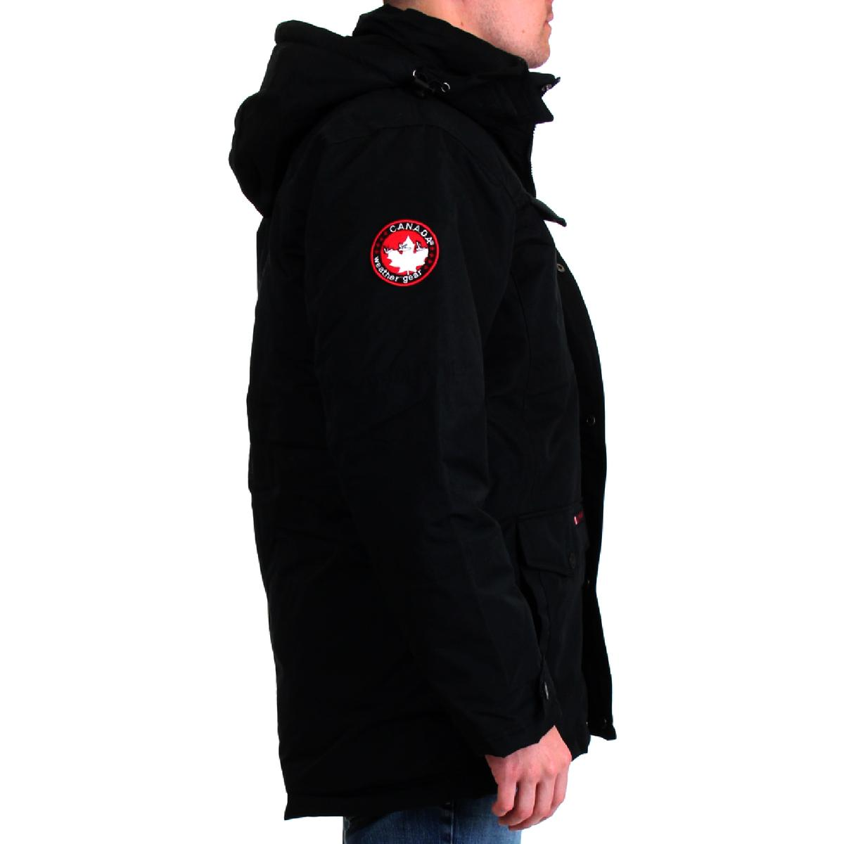 Canada-Weather-Gear-Systems-Men-039-s-Waterproof-Warm-Winter-Bib-Parka-Coat thumbnail 7