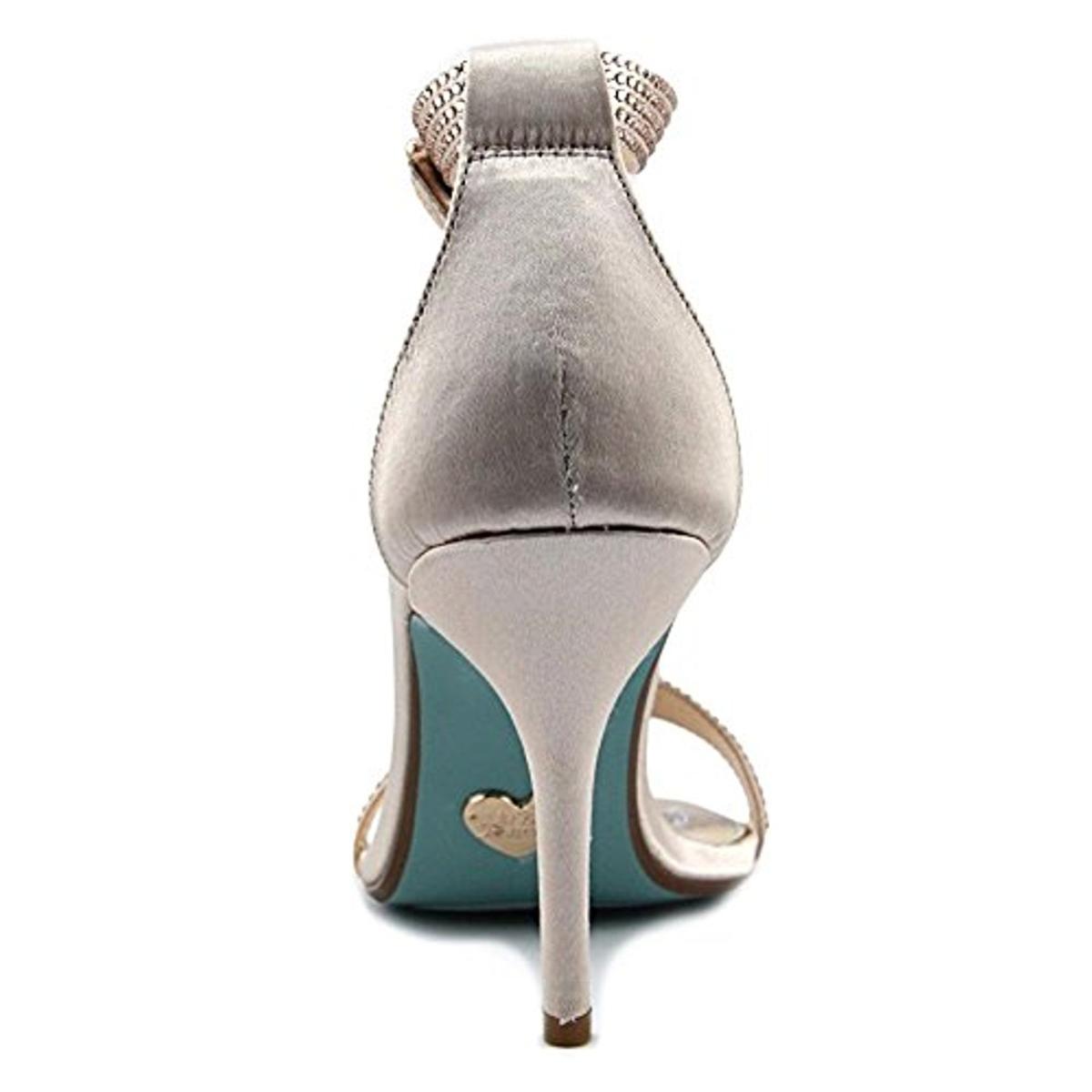 Blue-by-Betsey-Johnson-Womens-Shilo-Studded-Heels-Dress-Sandals-Shoes-BHFO-0493 thumbnail 6