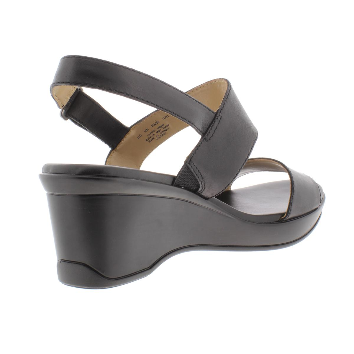 Womens Naturalizer Lincoln Sandal, Size 7.5 M - Black in