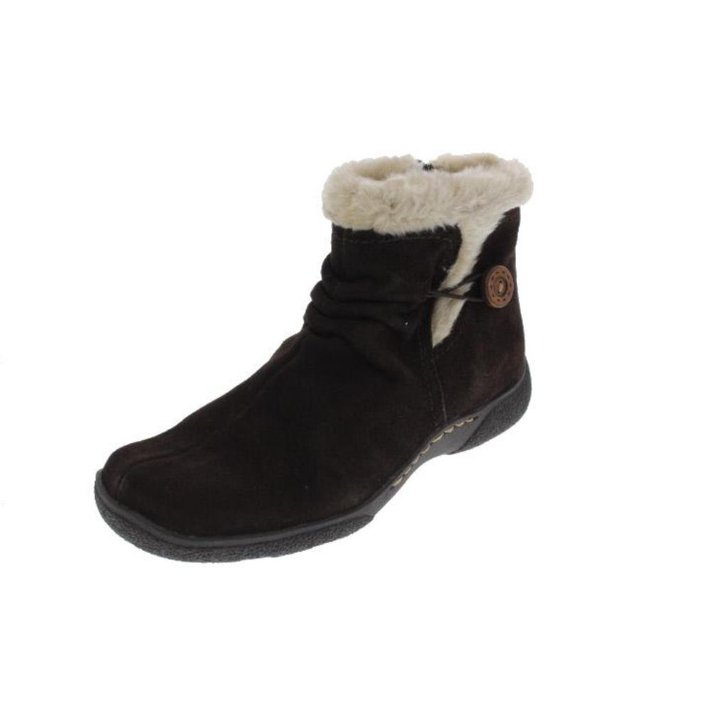 bare traps new laurel brown suede waterproof ankle boots