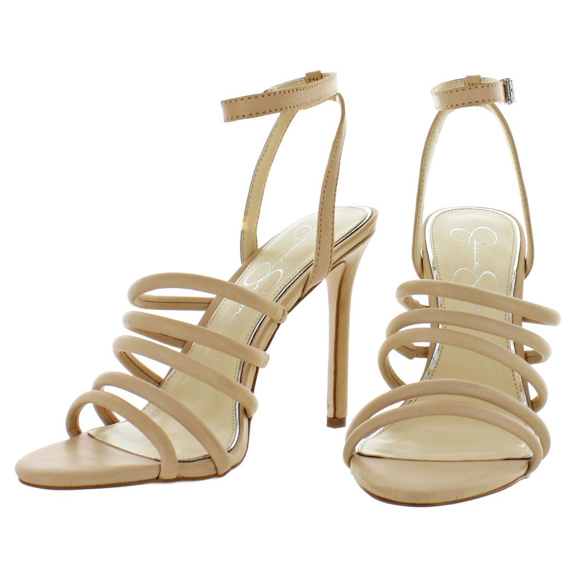 Jessica-Simpson-Femme-Joselle-a-Lanieres-Talon-Haut-Robe-Sandales-Chaussures-BHFO-7879 miniature 12