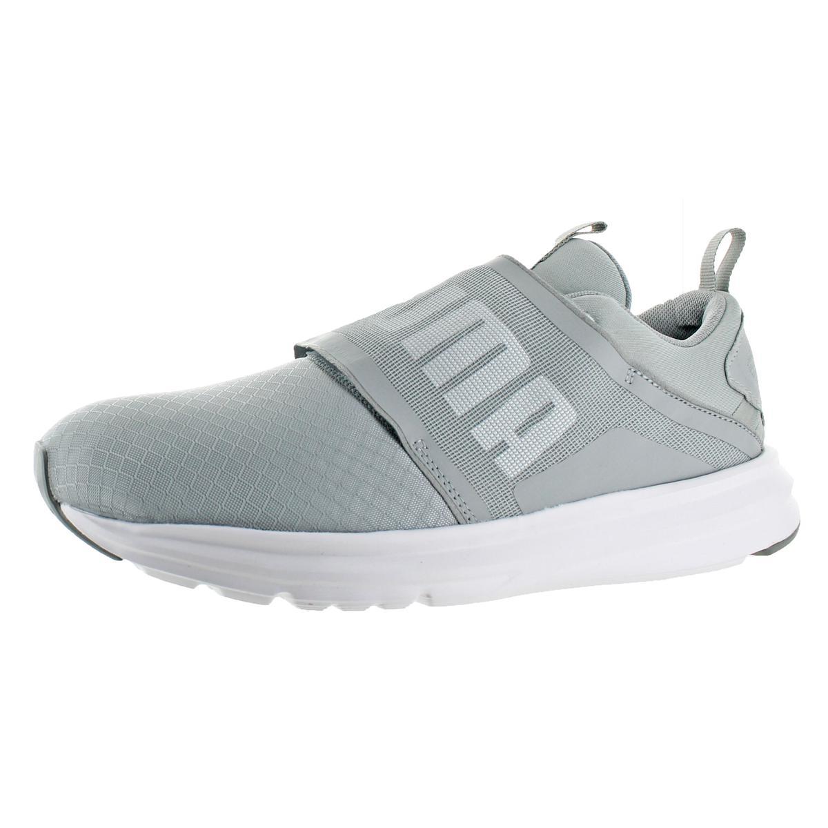 Puma Mens Enzo Strap Nautical Gray Fashion Running Shoes 11 Medium ... 676b0b5ec