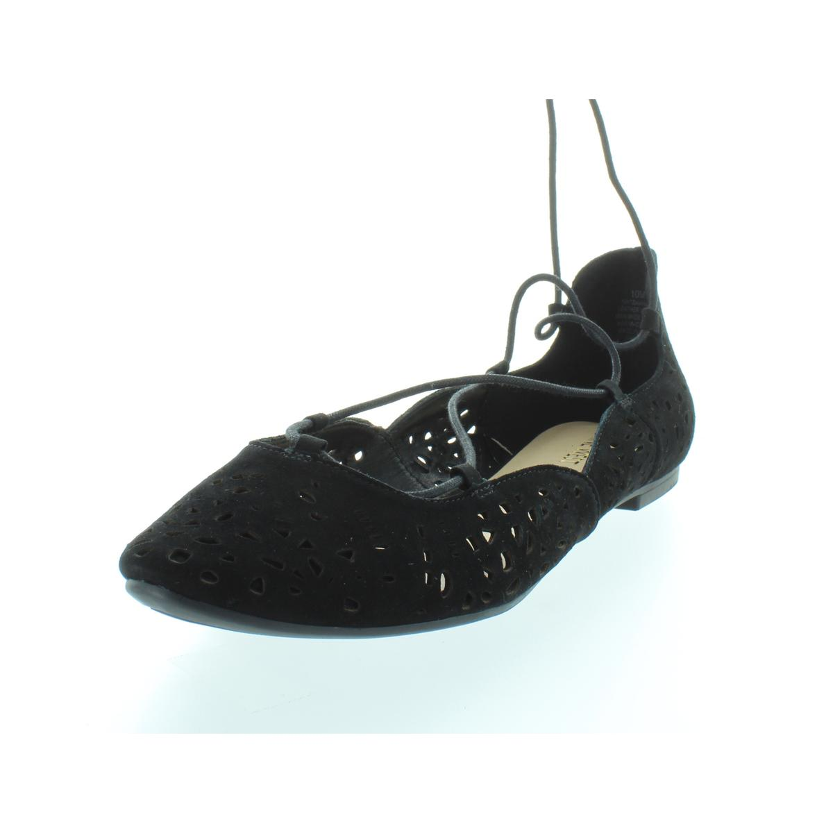 Nine-West-Womens-Zavanna-Suede-Padded-Insole-Ballet-Flats-Shoes-BHFO-3200 thumbnail 5