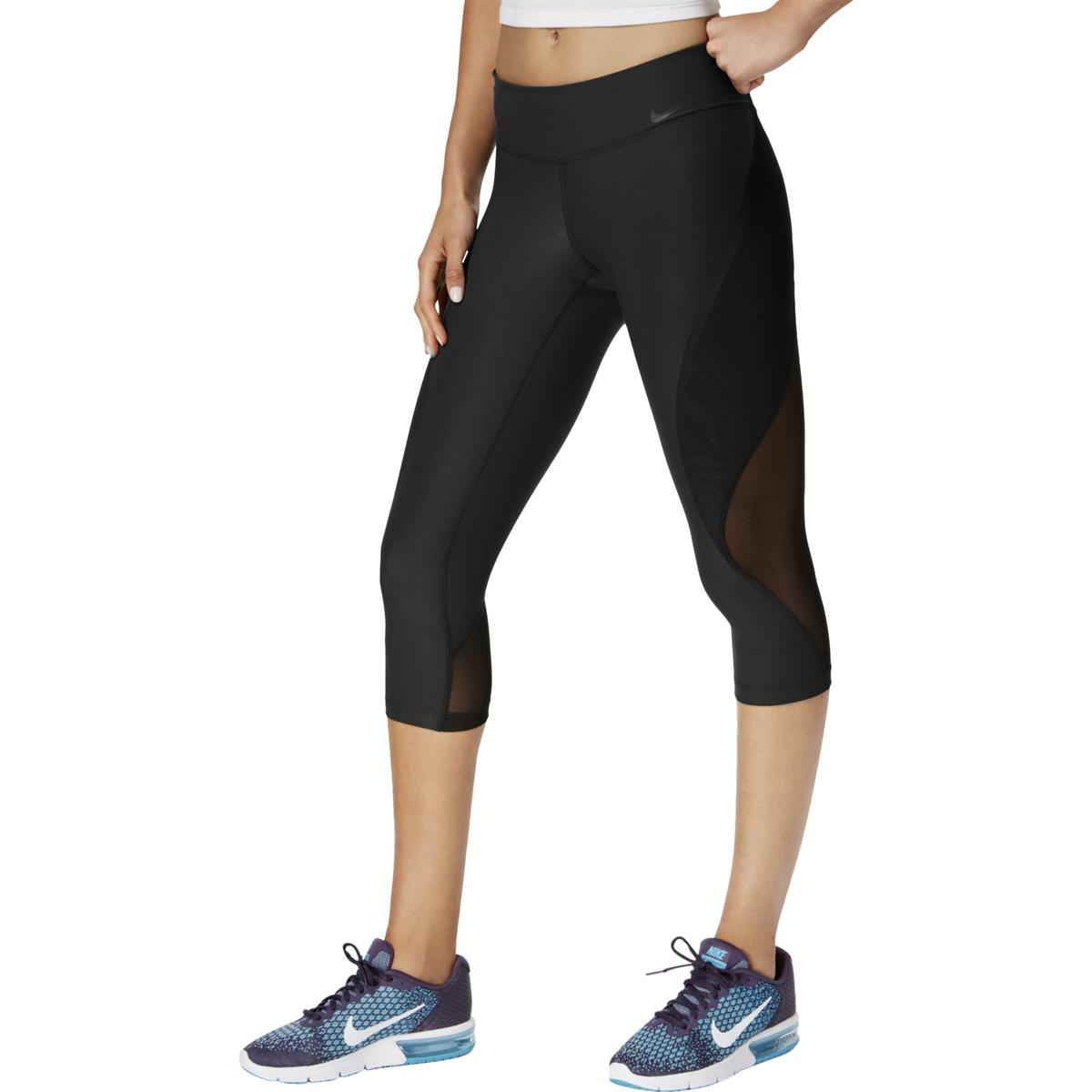 3a912c3e97703 Details about Nike Womens Black Yoga Fitness Running Athletic Pants L BHFO  0312