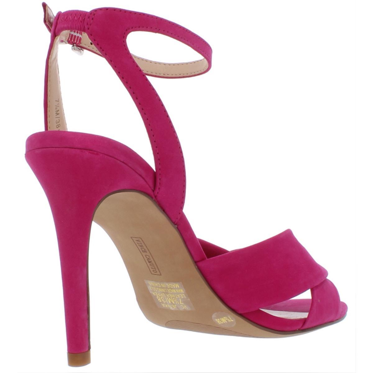 Vince-Camuto-Womens-Jenika-Nubuck-Stiletto-Night-Out-Heels-Shoes-BHFO-6694 thumbnail 8