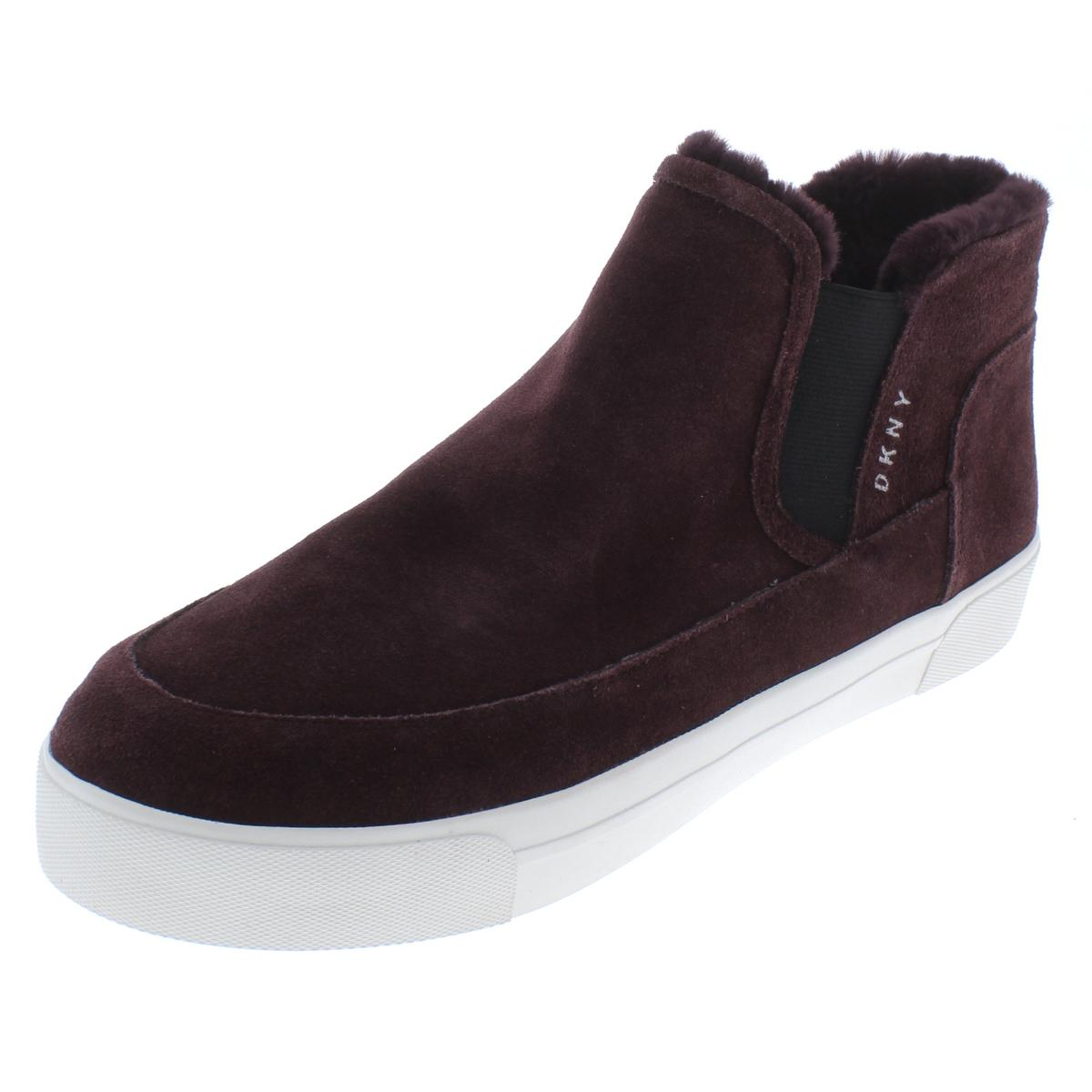 DKNY DKNY DKNY Damenschuhe Bessie Suede High Top Round Toe Casual Schuhes Sneakers BHFO 4759 05a2eb