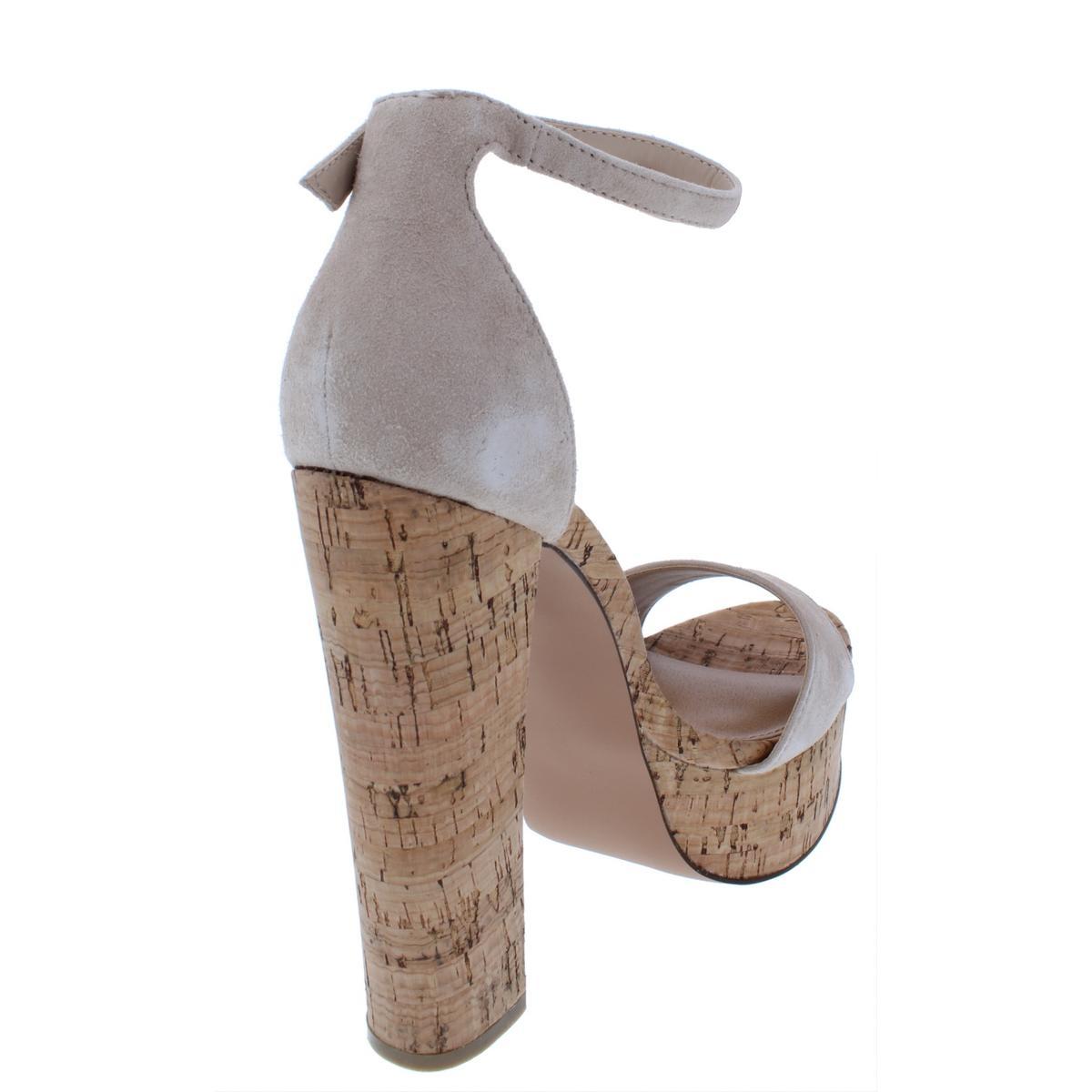 Steve-Madden-Womens-Gonzo-Platform-Block-Heel-Dress-Sandals-Shoes-BHFO-2458 thumbnail 10