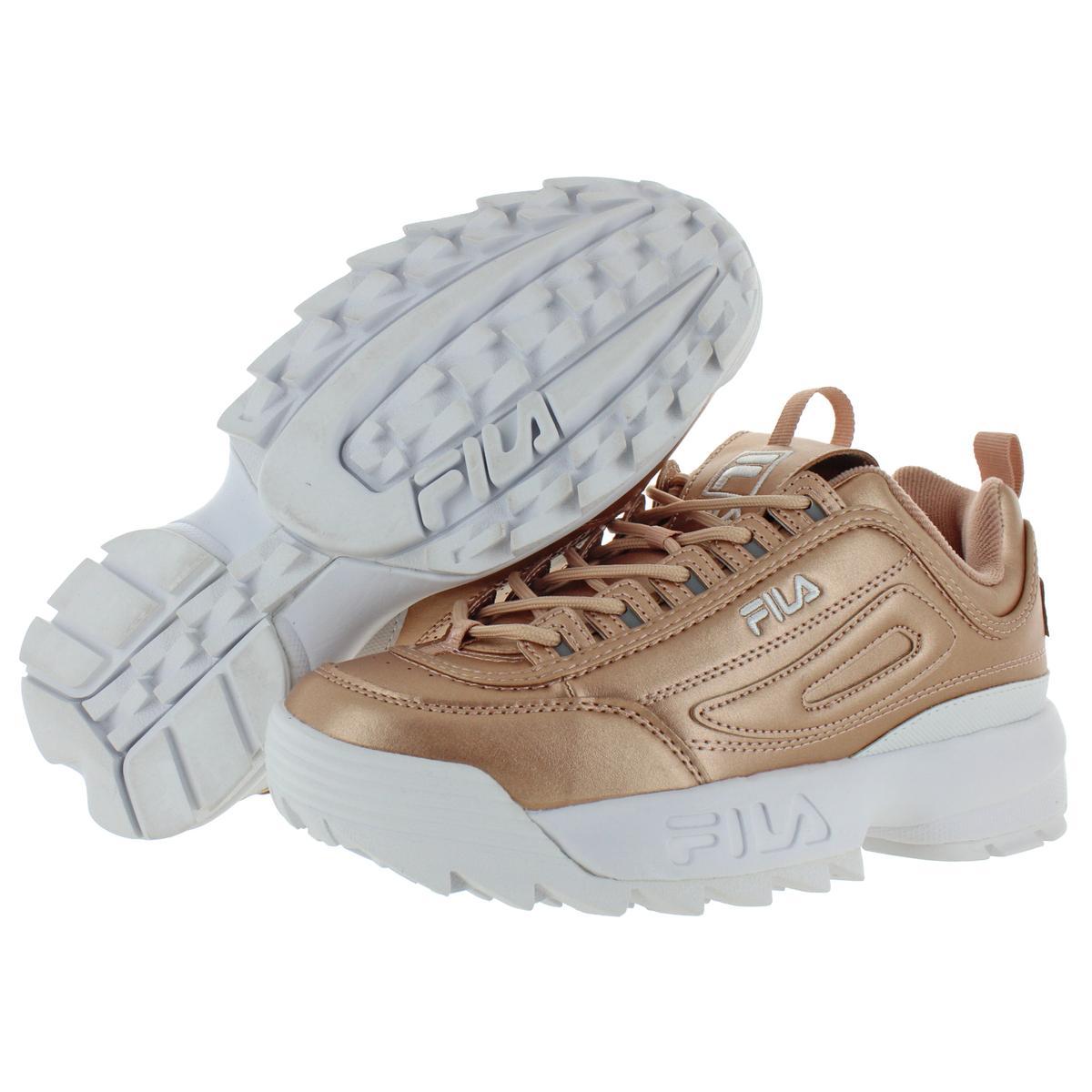 Fila-Womens-Disruptor-II-Premium-Metallic-Trainers-Sneakers-Shoes-BHFO-5237 thumbnail 11