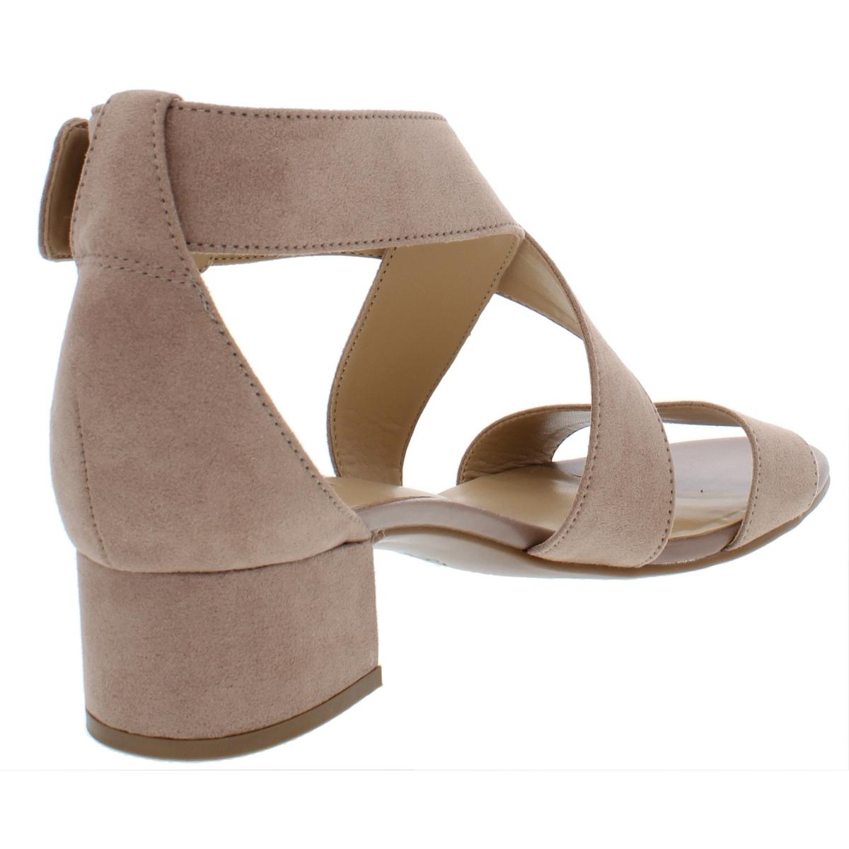 Naturalizer-Womens-Amelia-Faux-Suede-Strappy-Dress-Sandals-Evening-BHFO-4277 thumbnail 4