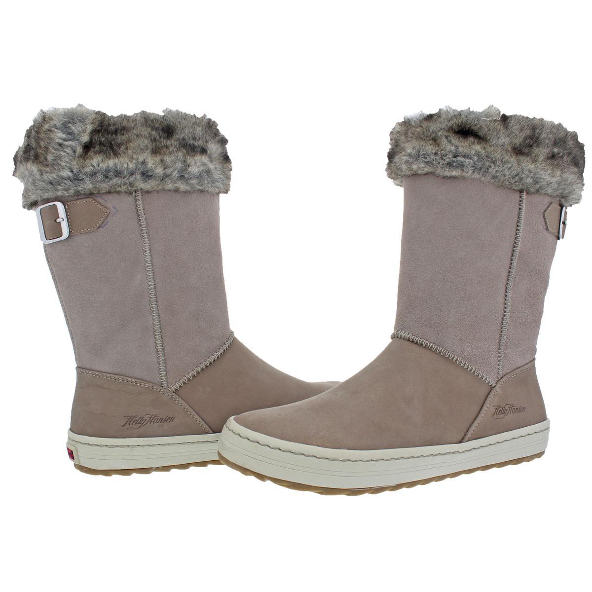Helly Hansen Waterproof Womens Alexandra 2 Suede Waterproof Hansen Winter Boots Shoes BHFO 7153 f0a788