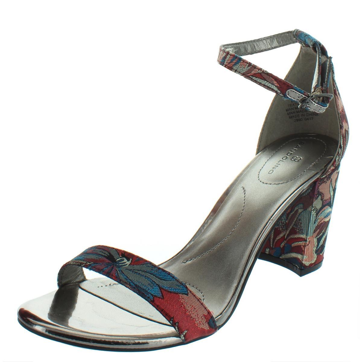 5ae51d1c7fed Details about Bandolino Womens Armory Blue Dress Sandals Shoes 8 Medium  (B