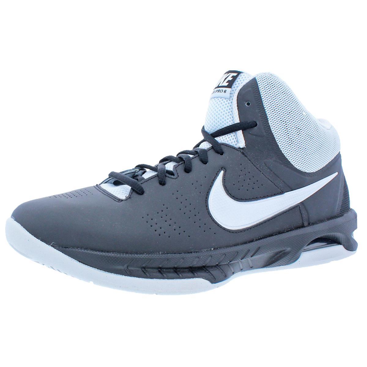 6e98c7e51c1 Details about Nike Womens Air Visi Pro VI Black Basketball Shoes 11.5  Medium (B
